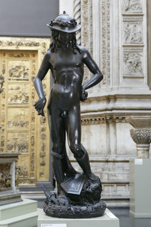 Bronze sculpture of David by Donatello
