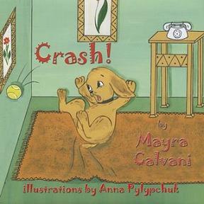 Crash the puppy children's book