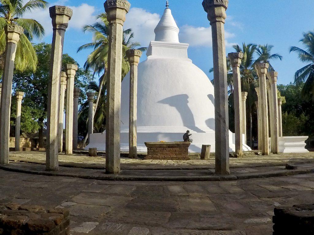 Het tempelcomplex bij Mihintale
