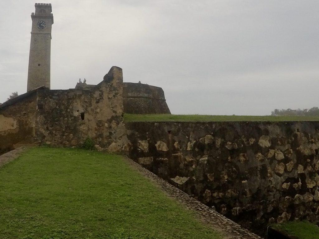 Het Nederlandse fort in Galle, Sri Lanka