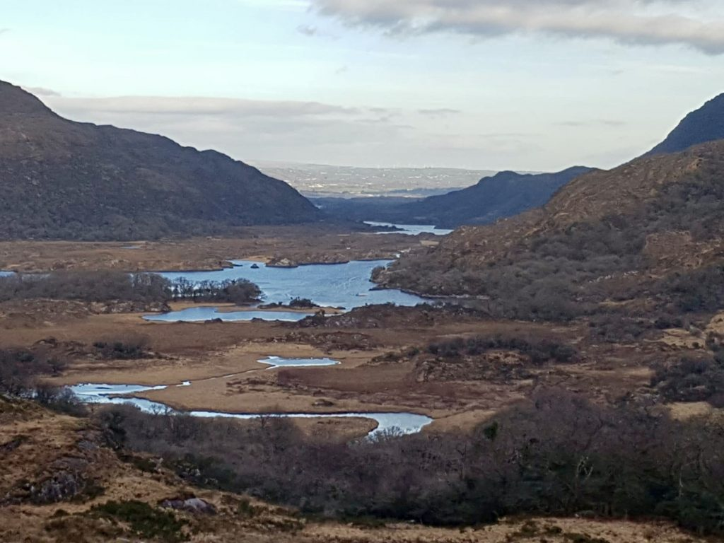 Ladies View is één van de mooiste vergezichten van de Ring of Kerry