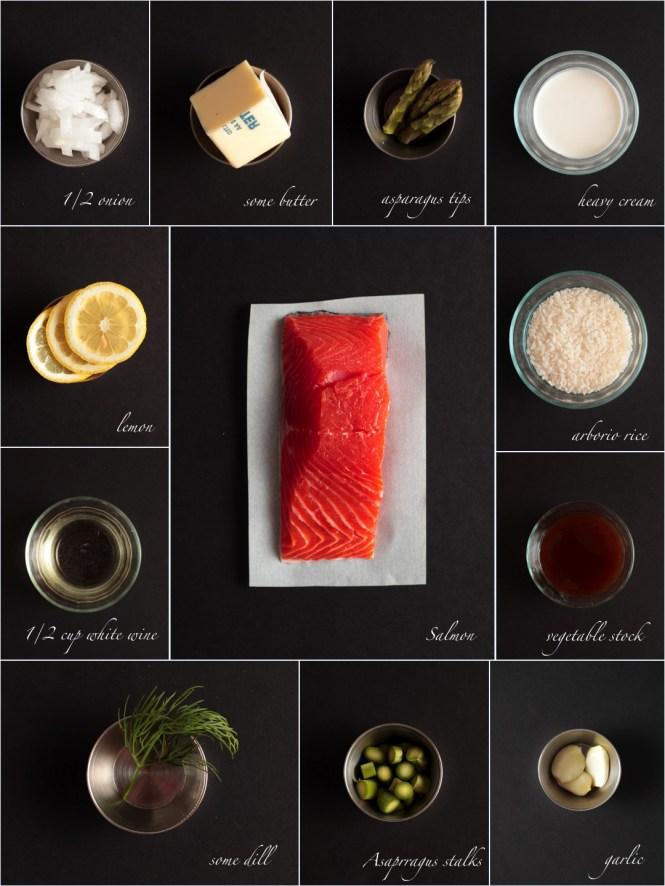 Salmon Risoto