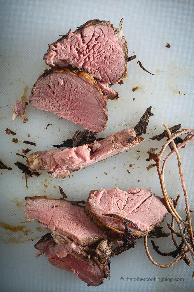Lamb: Boneless Leg 8h 130F Sous Vide