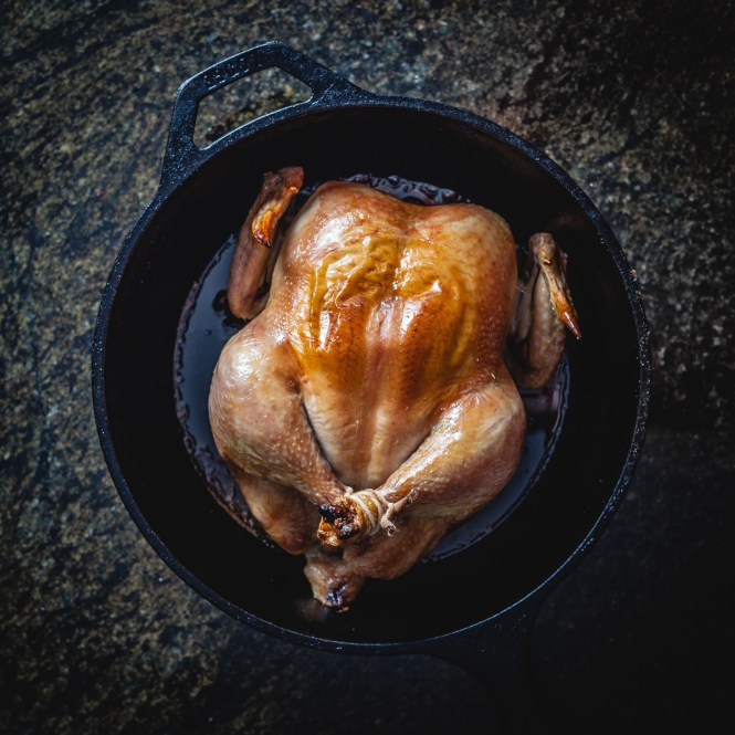 The Simplest Roasted Chicken