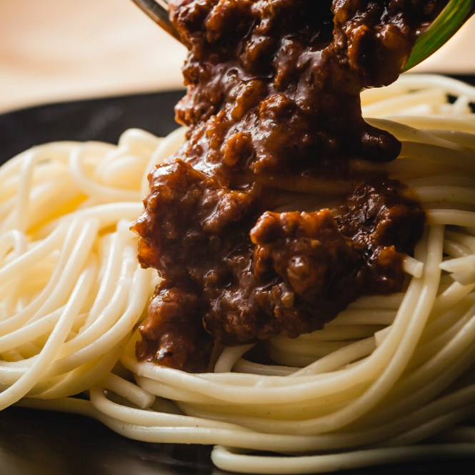 Christmas Bolognese Pasta @ thatothercookingblog.com