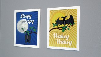Etsy inspired nursery prints - That Poore Baby