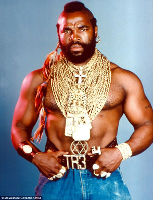 Mr. T Photo copyright Moviestore Collection / REX