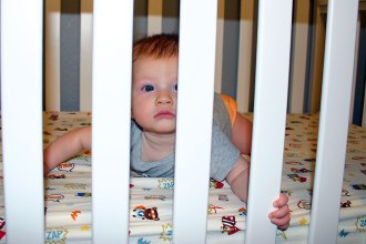 A Night in the Life of a Baby with Sleep Regression