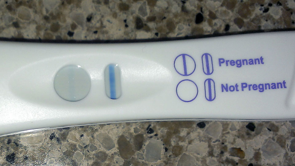 Pregnancy Test - That Poore Baby