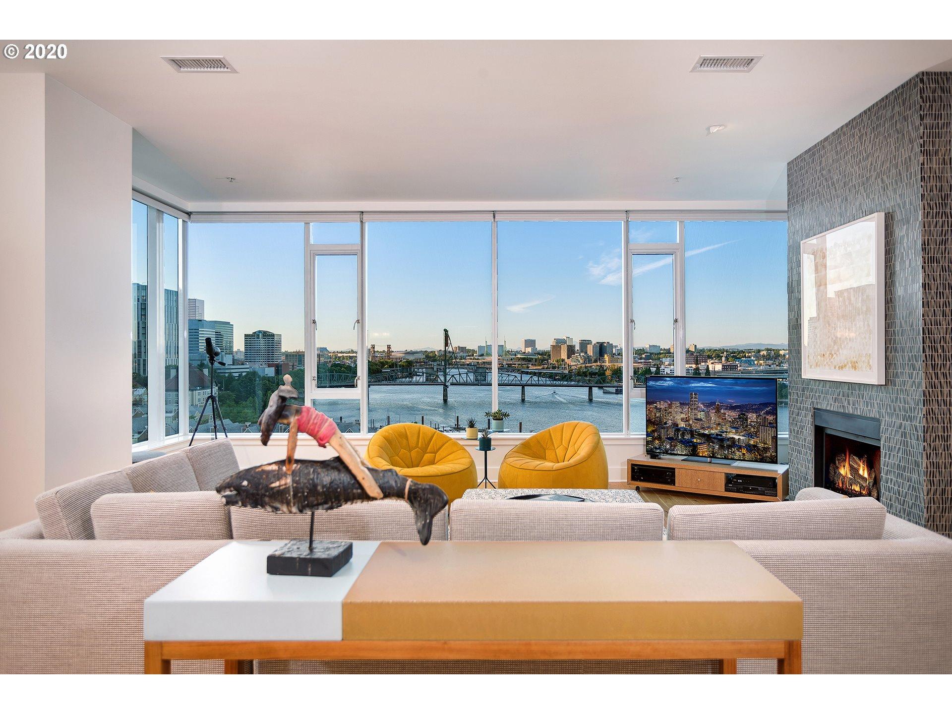 the strand living room