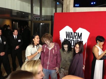 Warm Bodies, Premiere, fivel stewart, BooBoo Stewart