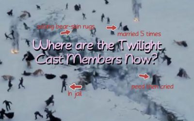 where are the twilight cast members now?