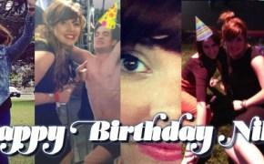 Happy birthday Nikki