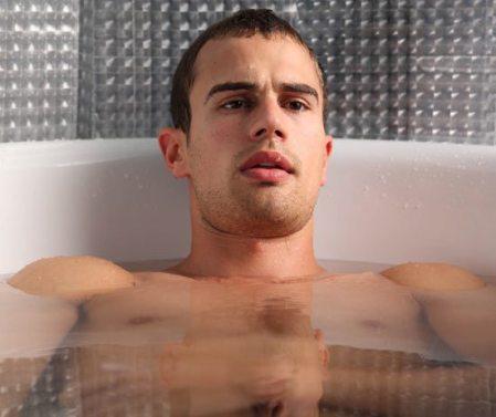 Theo james bathtub