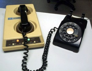 Old school modem