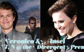 Divergent Premiere, Veronica Roth, Ansel Elgort,