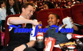 Tom Hiddleston, men with children, Tom Hiddleston with Children