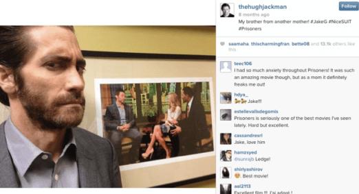 Hugh Jackson, instagram, social media, xmen, wolverine