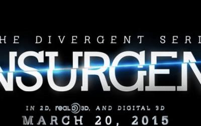 Insurgent 3D, title treatment
