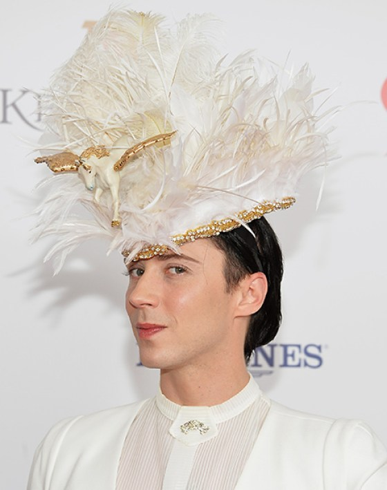 johnnyhat, Tom Hiddleston and Johnny Weir