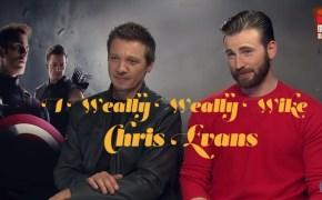 Chris Evans, Jeremy Renner, Avengers