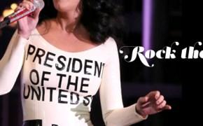 Oct 24, 2012; USA; Katy Perry.performs at the ''America Forward'' Grassroots Event with President Obama at Doolittle Park.Las Vegas, USA - 24.10.12 .Mandatory (Credit Image: © wenn.com/wenn.com/KEYSTONE Press)