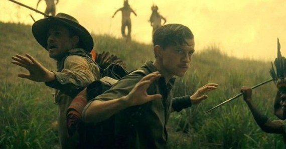 The Lost City of Z, Tom Holland, Charlie Hunnam