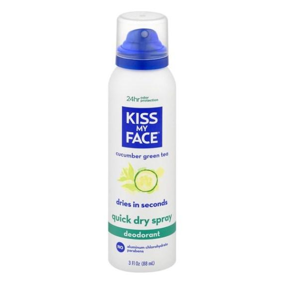 Natural Deodorant, Kiss My Face