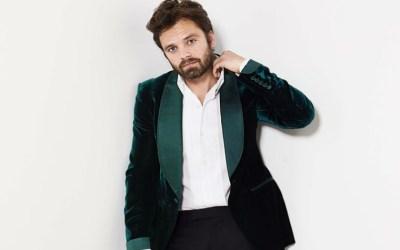 Sebastian Stan's Affinity for Velvet Suit Jackets