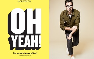 The Nordstrom Anniversary Sale Is Coming…and Daniel Levy Is Going