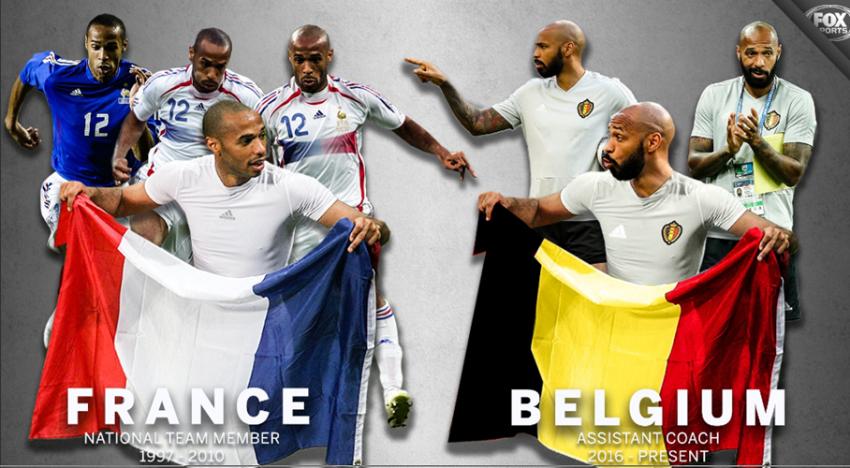 2018 World Cup France vs Belgium