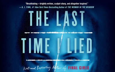 Summer Must Read: The Last Time I Lied by Riley Sager