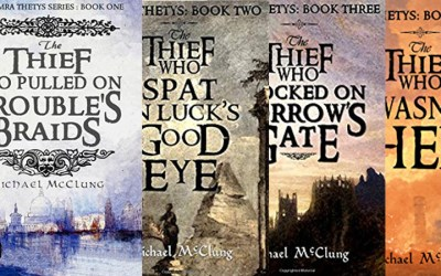Binge Read This: The Amra Thetys Series by Michael McClung