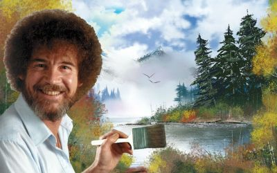 Give the gift of Bob Ross this Christmas