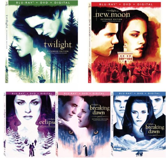 Twilight 10th Anniversary, Twilight dvd