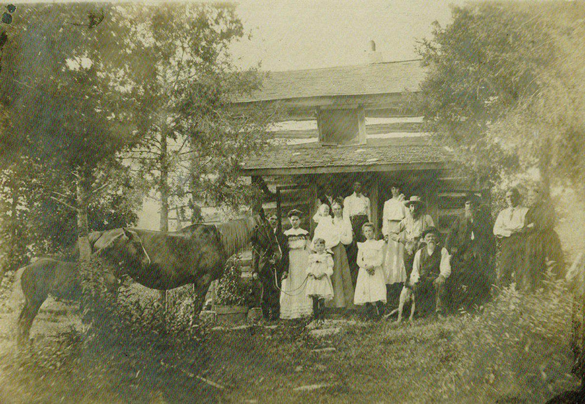 Family cabin vintage estes