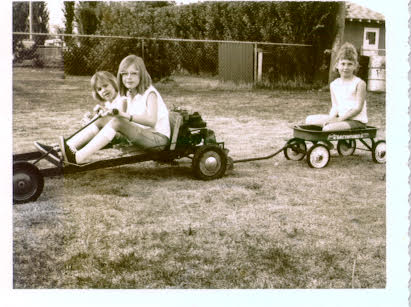Family memories - gocart fun 1968