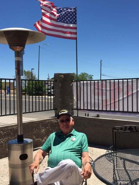 John, our Vet, Roadkill Cafe, AZ 2016
