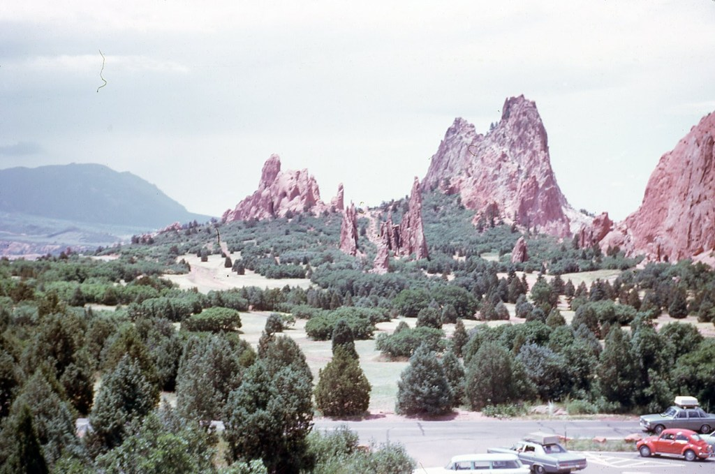 Colorado Garden of the Gods 1973