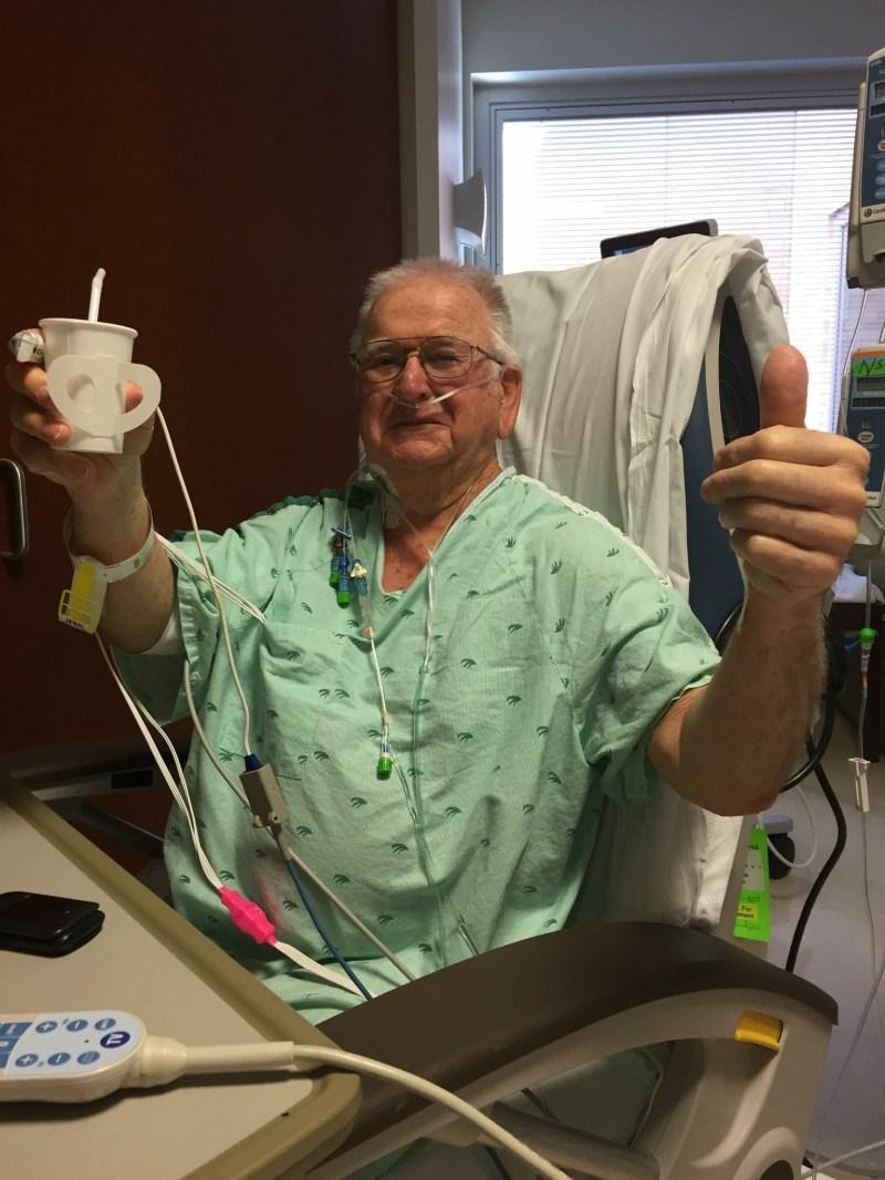 John after heart surgery