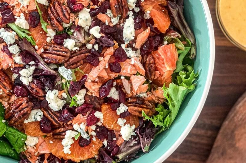 Savory Citrus Salmon Salad
