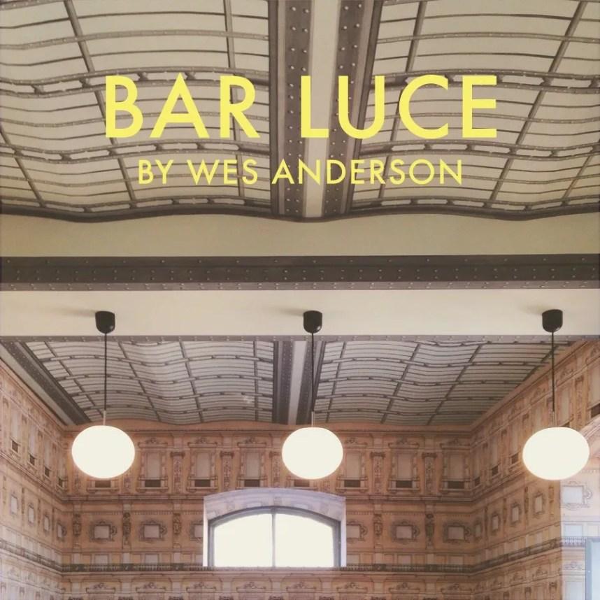 INGRIDESIGN @ wes andesron's bar luce milano
