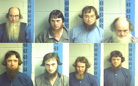 Amish Mug Shots - The Mullet Gang