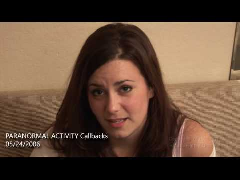 [EXTENDED VERSION] – PARANORMAL ACTIVITY Katie & Micah auditions – entirely improvised!