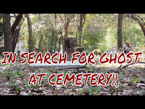 IN SEARCH FOR GHOST THAT FOLLOWED PATTY!!