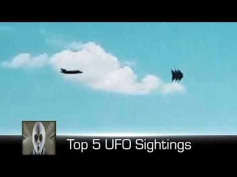 Top 5 UFO Sightings December 31st 2017