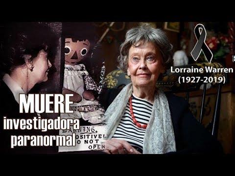 El mundo paranormal está de luto!! · Lorraine Warren 1927-2019