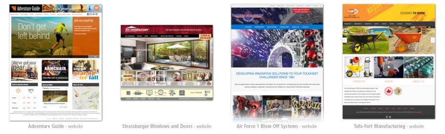 Websites portfolio