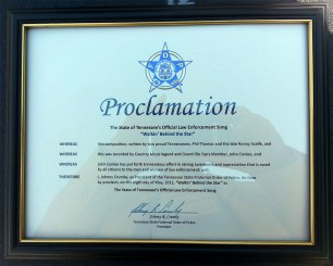 FOP Proclamation (courtesy of Webster PR)