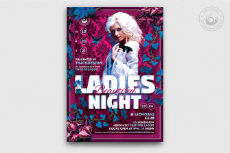 Beautiful Ladies Flyer Template